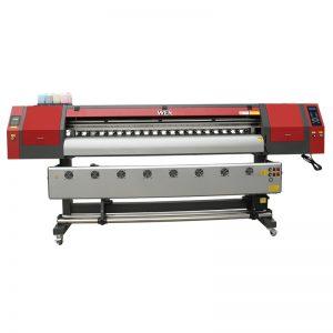 Широкоформатный принтер для сублимации красителя объемом 1,8 м с тремя печатающими головками dx5 для печати футболки WER-EW1902