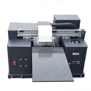 3d t-shirts принтер машина для печати мобильный бизнес кожи WER-E1080UV