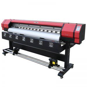 6 футов Печать видео WER-ES1901 DX5 / DX7 головной эко-принтер для растворителей В поставщике Guangzhou