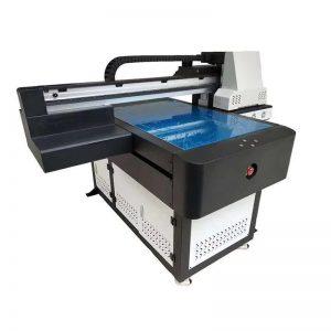 A1 УФ-принтер Цифровая плоскопанельная печатная машина 6090 с 3D-эффектом / печать лаком