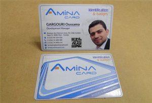 Пример визитной карточки бизнес-имени с рабочего стола uv printer -A2 размер WER-D4880UV