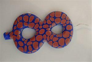 Свеча образца 1 от УФ-принтера формата A2