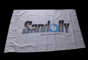 Флаг Ткань баннер напечатаны на 1,6 м (5 футов) экологически чистый принтер WER-ES160