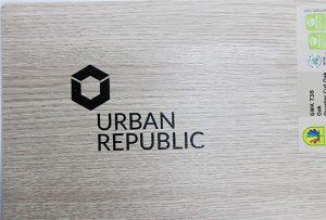 Печать логотипов на деревянных материалах WER-D4880UV 2
