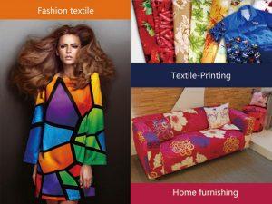 Одностороннее решение для текстильной печати