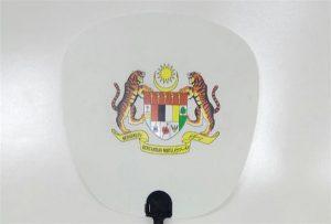 Пластиковый образец вентилятора, напечатанный на УФ-принтере формата A1 6090UV