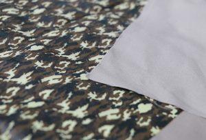 Текстильная печать образца 1 цифровой текстильной печатной машиной WER-EP7880T