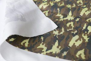 Текстильная печать образца 3 цифровой текстильной печатной машиной WER-EP7880T