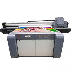 цифровая акриловая печатная машина УФ-планшетный принтер WER-EF1310UV