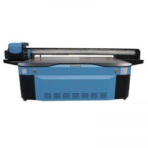 полноцветный CMYK LCLM белый лак UV планшетный принтер 3D WER-G2513UV