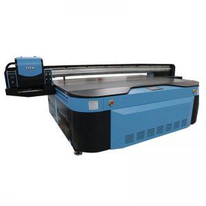 хорошее качество УФ-планшетный принтер для стены / керамической плитки / фотографии / акриловая / деревянная печать WER-G2513UV