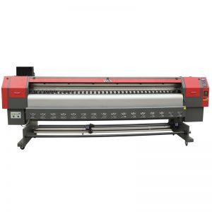 высокоскоростной картридж с растворителем 3,2 м, цифровая печатная машина для гибких баннеров цена WER-ES3202